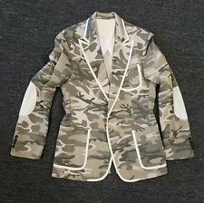 D By D D Gnack Camo jacket top (Sz 50)
