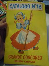 CATALOGO N° 18 - GRANDE CONCORSO MIRA LANZA - ANNI '70  LN/2