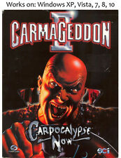 Carmageddon II 2 Carpocalypse Now PC Game 1998
