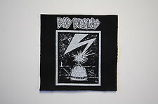 Bad Brains Cloth Patch (CP212) Punk Rock Reggae HR Ramones Dead Kennedys Adicts