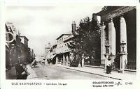 Hampshire Postcard - Old Basingstoke - London Street  U824