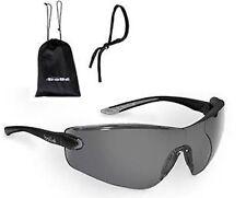 Bolle Cobra Smoke Gray Sunglasses Anti-Fog Lens  W/Case and Cord