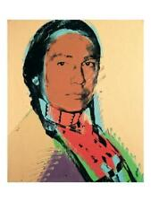 POP ART PRINT - American Indian by Andy Warhol - LAST ONE - OUT OF PRINT
