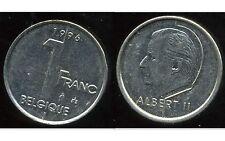 BELGIQUE 1 franc 1996    ( belgique )  ( bis )