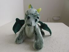 "Russ GREEN DRAGON 11"" Plush Stuffed Animal"