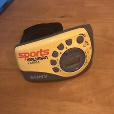 Sony Srf-M78 Fm Am Sports Armband Jogging Radio Walkman Clean