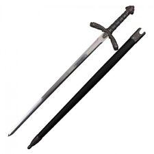 "38"" Medieval Paladin Crusader Knight Sword of Roland w/ Scabbard"