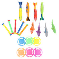 19 Pieces Colorful Diving Sticks Underwater Swimming Pool Game Toy for Kids