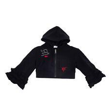 BERNA Hoodie Size 8Y Embroidered Full Zip