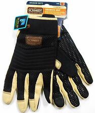 C.E. Schmidt Work Wear Large Men's Enhanced Grip Work Gloves Brand New