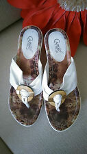 "CARLOS by CARLOS SANTANA ""Mojito"" Wedge in size 8.5 M ~ CRUISE SHOES ~ CUTE!"