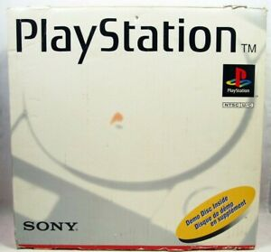 Sony PlayStation PS1 SCPH-5501 Authentic Console BOX ONLY