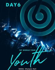 DAY6 DAY 6 1ST WORLD TOUR Youth OFFICIAL GOODS 26 PHOTO CARD PHOTOCARD SET NEW