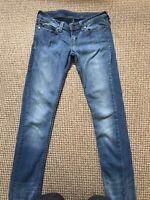 "Levi vintage 901 woman's jeans W28"", L 32"" Used Condition"