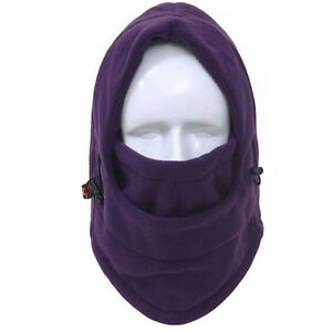 US FAST Windproof Fleece Neck Warm Balaclava Full Face Mask for Cold Weather
