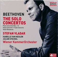 Beethoven The SOlo COncertos box CD NEW Stefan Vladar Wiener KammerOrchester