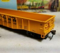 Athearn Rio Grande 50' gondola car for HO train set Thrall  rtr metal wheels