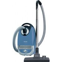 Miele Complete C2 Hard Floor Canister Vacuum Cleaner In Tech Blue