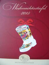 Hutschenreuther - Weihnachtsstiefel 2015 Porzellan Porzellanstiefel Stiefel NEU