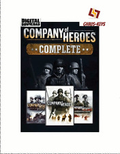 Company of Heroes COMPLETE pack steam Key pc game code global [Livraison rapide]