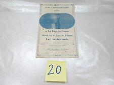 PART ANCIENNE-LE LAC DE COME-LE LAC DE GARDE-NOEL SUR LE LAC DE COME -complète