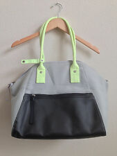 Lululemon Vino to Vinyasa gym bag purse tote black gray green