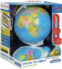 Explore The World Interactive Talking Globe Clementoni Interactive Educational