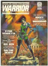 Warrior (1982 Quality) 22 Vg Sept. 1984 Alan Moore+
