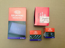 ZBRIO15021 Kia Rio Benzin Inspektionskit Kit MB Luftfilter Ölfilter Benzinfilter