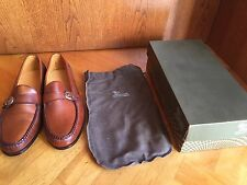 Allen Edmonds Fairmont CHESTNUT Scarpe Business MOCASSINO US 11.5 e EUR 45 UK 11