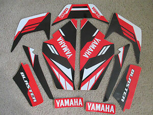 YAMAHA  BLASTER RED/BLACK GRAPHICS 1987-2002