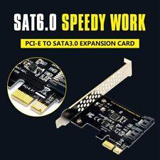 PCI expresar SATA 3 Tarjeta de controladora,2 puerto PCIe SATA III 6GB/s Co L9U1