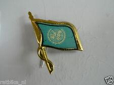 PINS,SPELDJES 50'S/60'S COUNTRY FLAGS 82 U.N.O. VINTAGE VERY OLD VLAG
