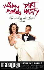 """MICKEY AVALON /DIRT NASTY """"MARRIED TO THE GAME TOUR"""" 2016 PHOENIX CONCERT POSTER"""