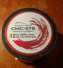 12 LBS Test x 2200 YD Cortland CMC-ST8 Monofilament Fishing Line  New in Package