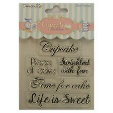 Dovecraft Cupcake Boutique-Dulce Claro Sellos