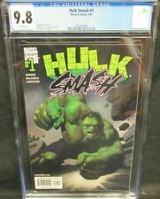 Hulk Smash #1 (2001) Marvel Knights Kevin Nowlan Cover CGC 9.8 White Pages V344