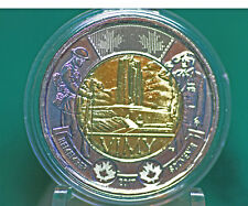 2017 Canada Vimy Ridge 1917-2017 Commemorative Toonie from roll