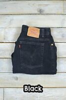 VINTAGE LEVIS 550 HIGH WAISTED WOMENS RELAXED TAPERED JEANS 26 27 28 29 30 31 32
