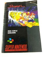 Notice Super Nintendo SNES VF  Notice Super Game Boy  FAH  Envoi rapide et suivi