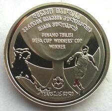 Georgia 2008 Football Cup 2 Lari Coin,Prooflike