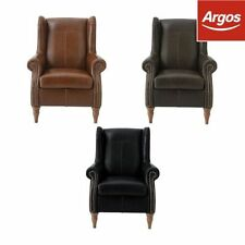 Leather Solid Traditional Armchairs