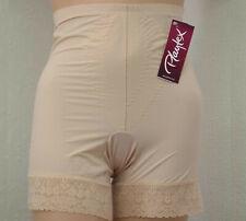 Playtex P2526 Firm Control Long Leg Panty Girdle With Lace Trim, Skin & Black