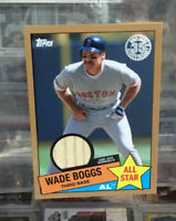 2020 Topps Series 2 1985 Bat Relic All Star WADE BOGGS Gold /50
