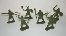 Ancient celtic warriors Gauls Barbarians Druid 1/32 platic toy soldiers. Biplant