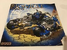LEGO BIONICLE 8993 Kaxium V3 INSTRUCTIONS ONLY