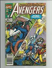 THE AVENGERS #336  VF    WHITE PAGES COPPER AGE COMIC 1991 MARVEL COMICS