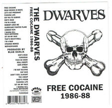 Dwarves - Free Cocaine 1986-88 - CASSETTE TAPE - SEALED new copy