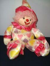 CLOWN PAGLIACCIO CARILLON A CHIAVETTA vintage anni 80 pupazzo bambola doll toy