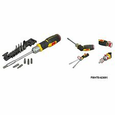 Stanley FatMax Pistol Grip Ratchet Screwdriver With 12 Bits